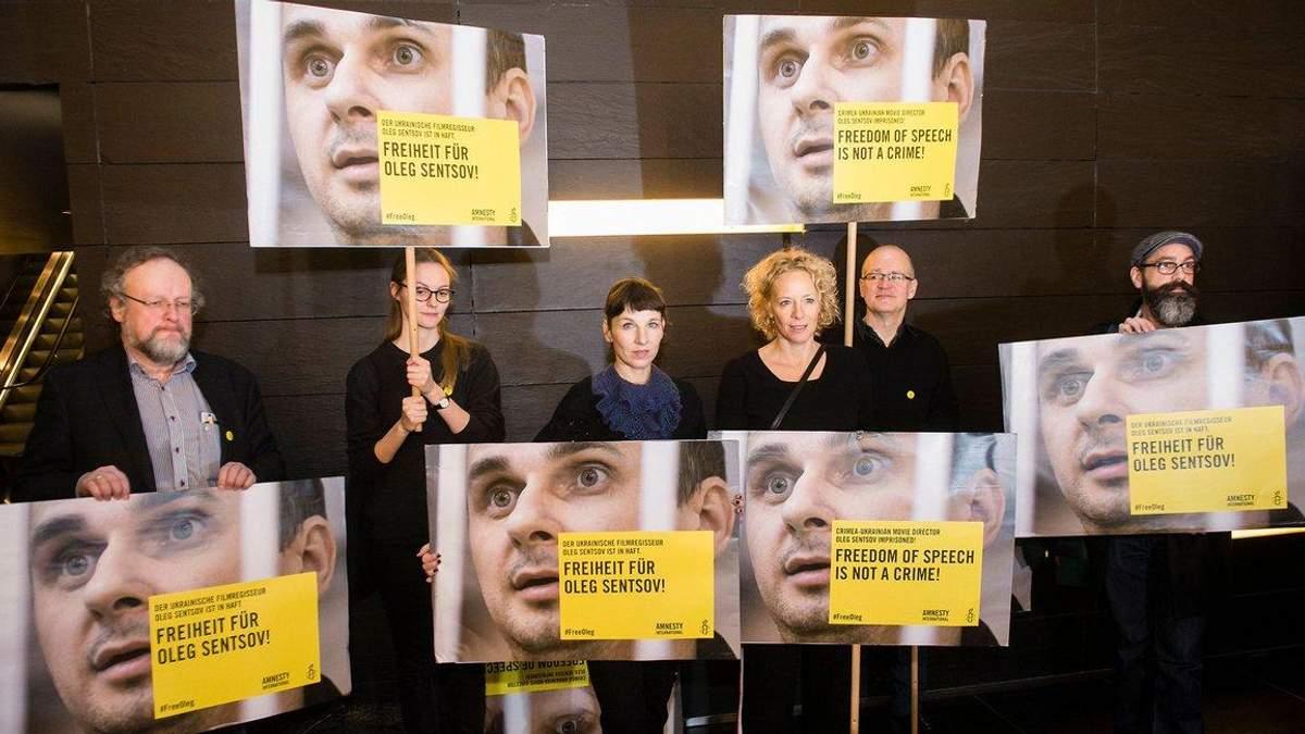 #SaveOlegSentsov: как в мире требуют освобождения украинских пленников Кремля