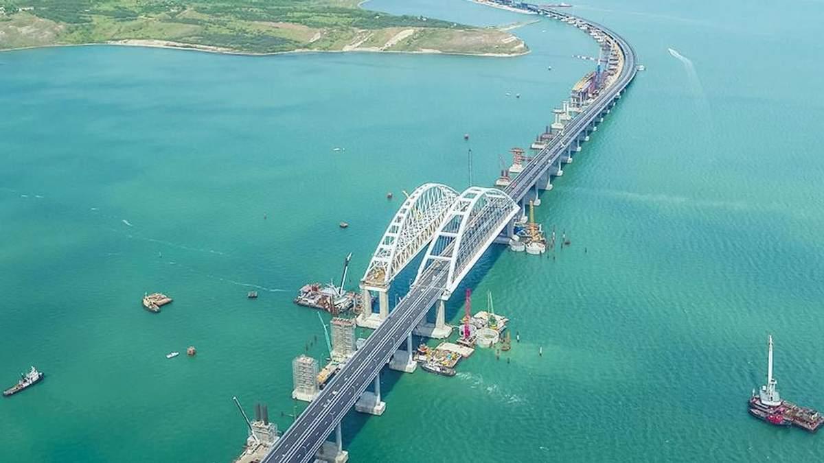 """Кримський міст потрібен Путіну, щоби """"підвищити стійкість анексії"""" півострова"""