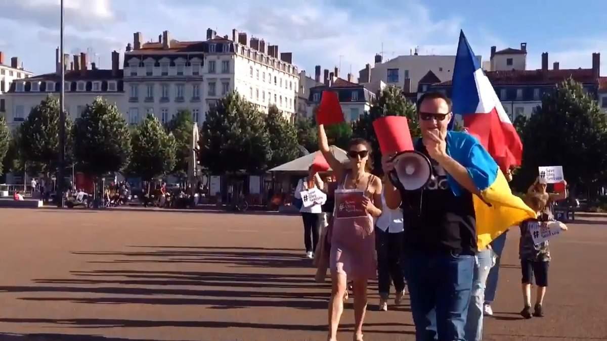 Як у всьому світі пройшли акції на підтримку Сенцова