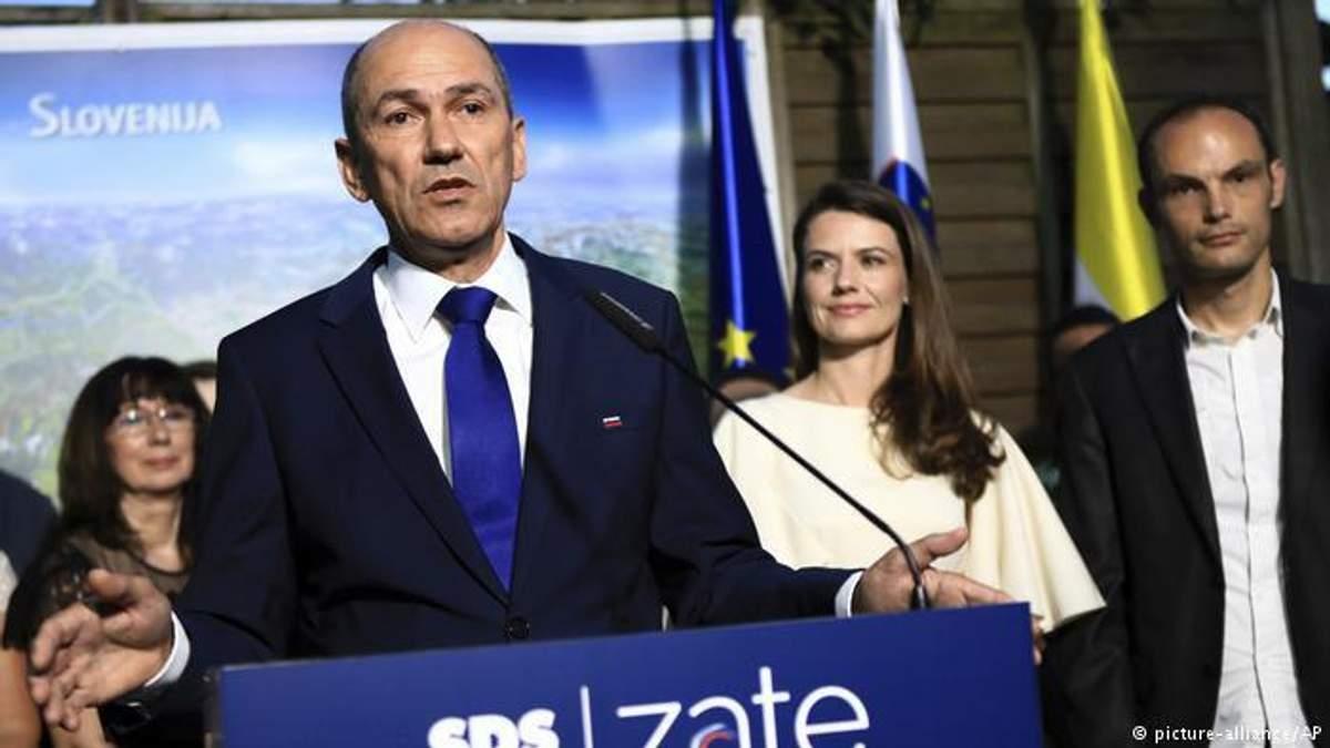 На виборах у Словенії перемогла права партія із жорсткою політикою щодо мігрантів