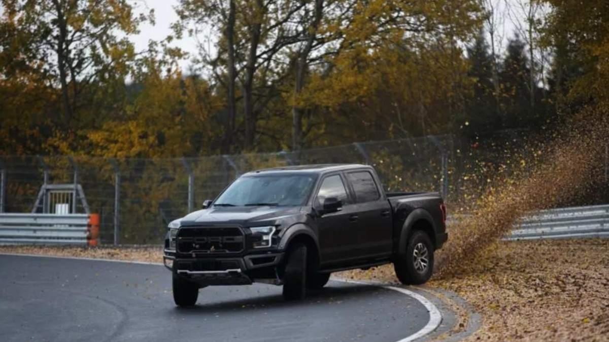 Легендарну трасу Нюрбургринг змогла підкорити вантажівка – потужний Ford Raptor