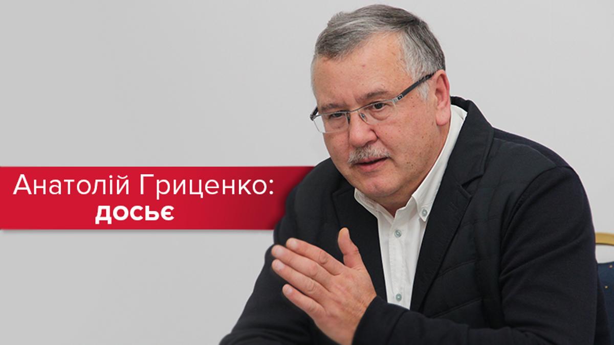 Другий у рейтингу: топ-факти та критика Анатолія Гриценка