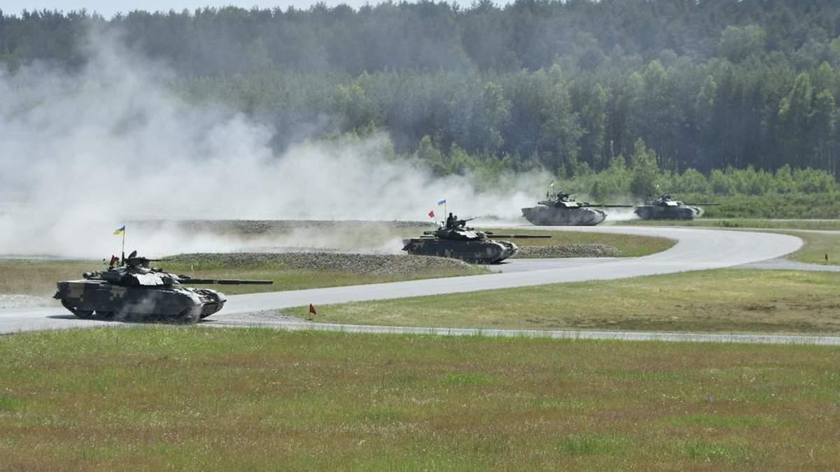 Українські танки показали міць на міжнародних змаганнях у Німеччині: потужне відео