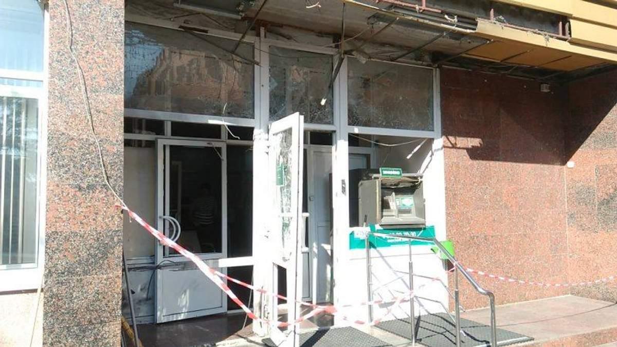 У Кропивницькому на порозі банку спрацювала вибухівка