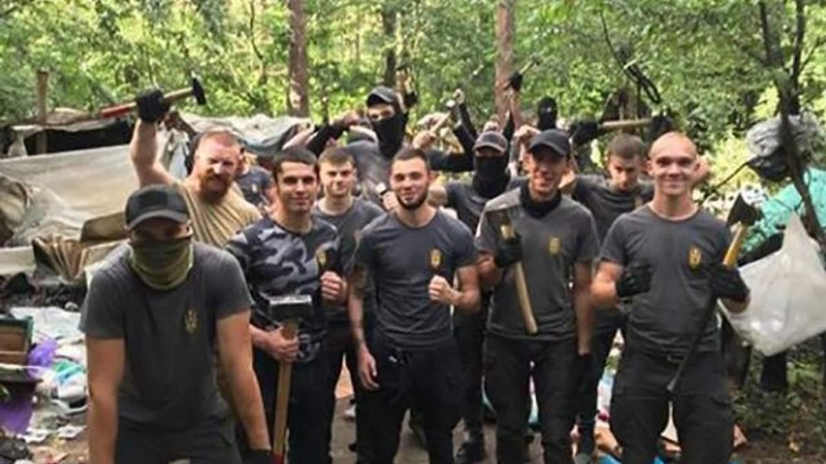 Разгром лагеря ромов в Киеве: полиция открыла дело и описала ход событий