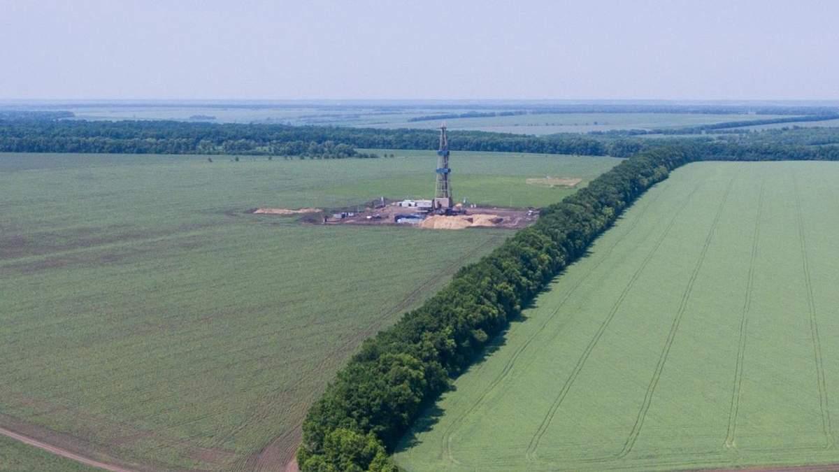 На Харківщині відкрили нове родовище газу: поточні запаси – 200 мільйонів кубічних метрів, перспектива – 2мільярди кубічних метрів