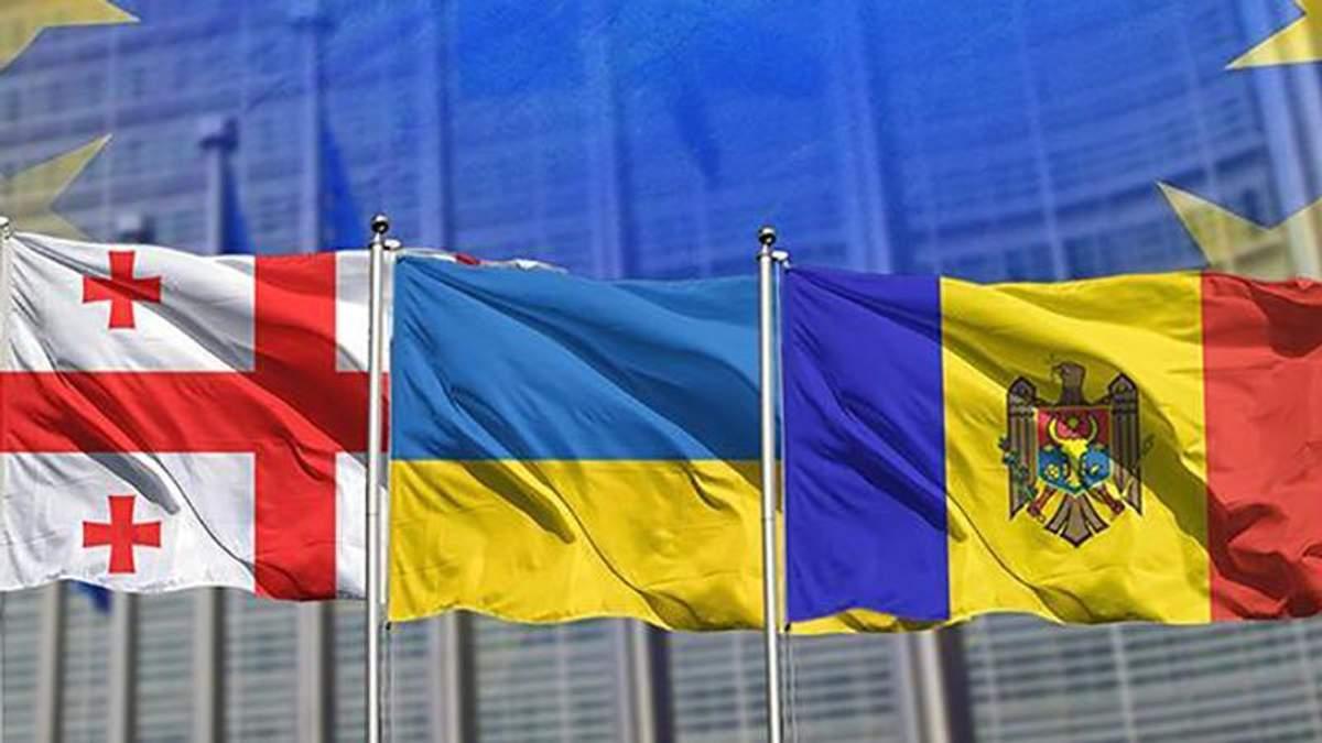 Киев, Кишинев и Тбилиси могут подать совместный иск в Кремль, – спикер парламента Молдовы Канду