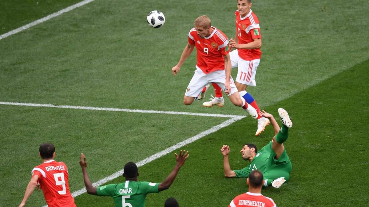 Россия – Саудовская Аравия: видео голов и моментов матча Чемпионата мира 2018
