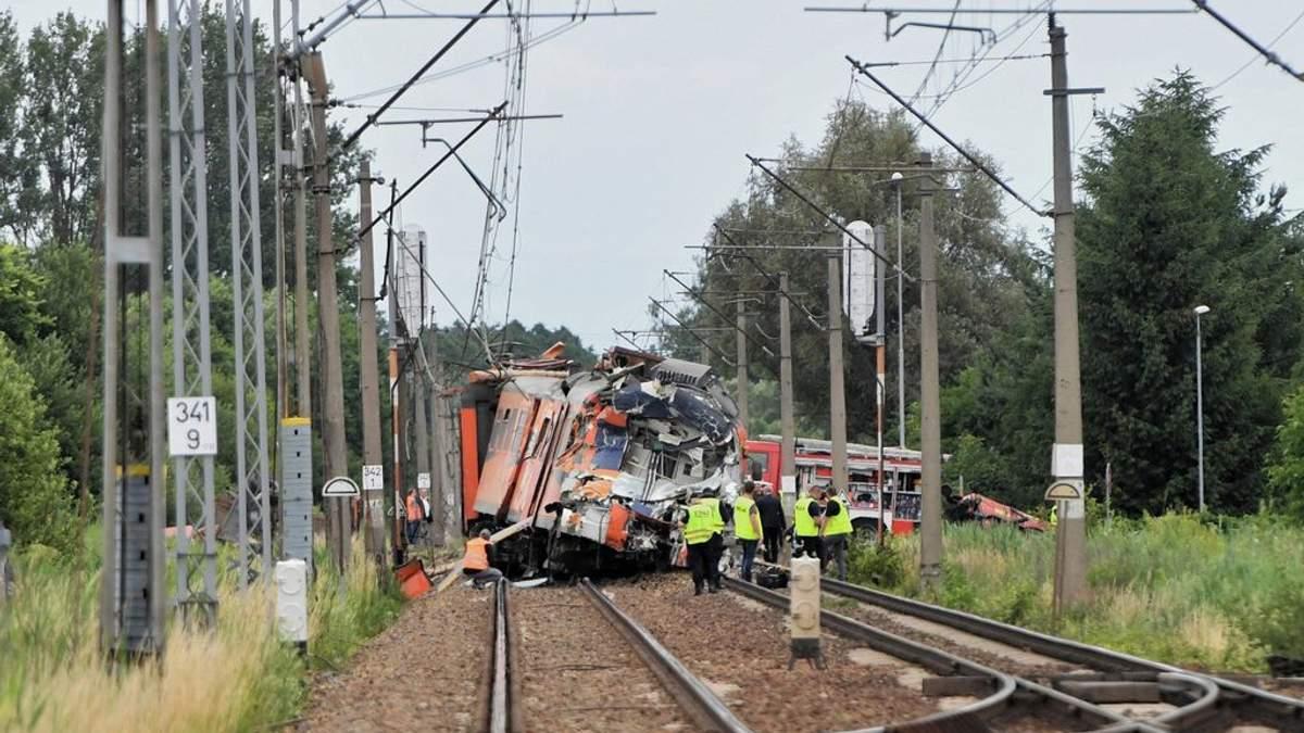 В Польше произошло смертельное ДТП с участием поезда и грузовика