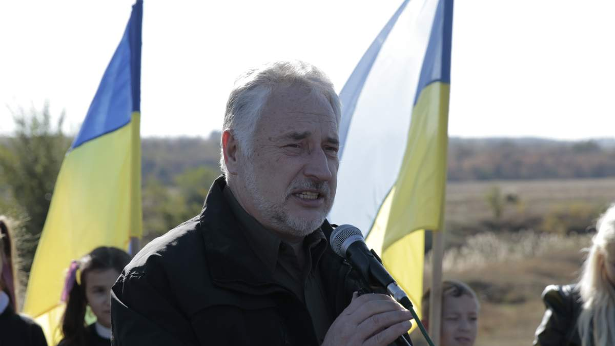 Екс-голова  Донецької військово-цивільної адміністрації Павло Жебрівський