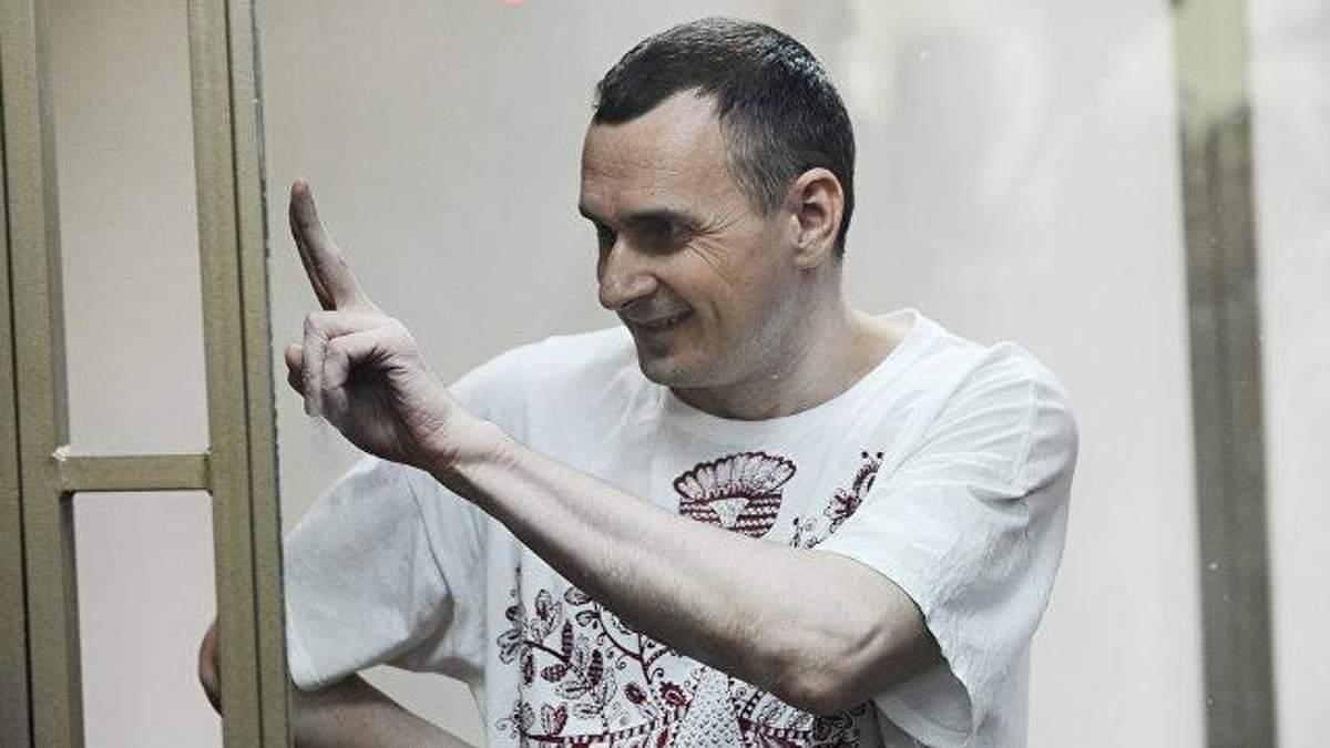 Олег Сенцов не збирається припиняти голодування