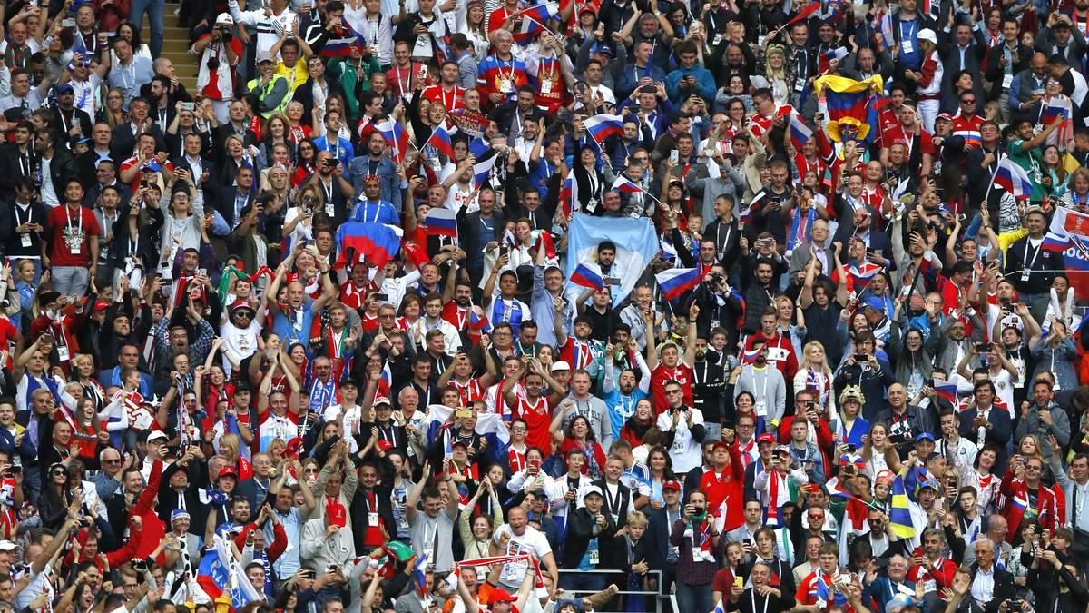 На відкритті ЧС-2018 у Росії розгорнули прапор України