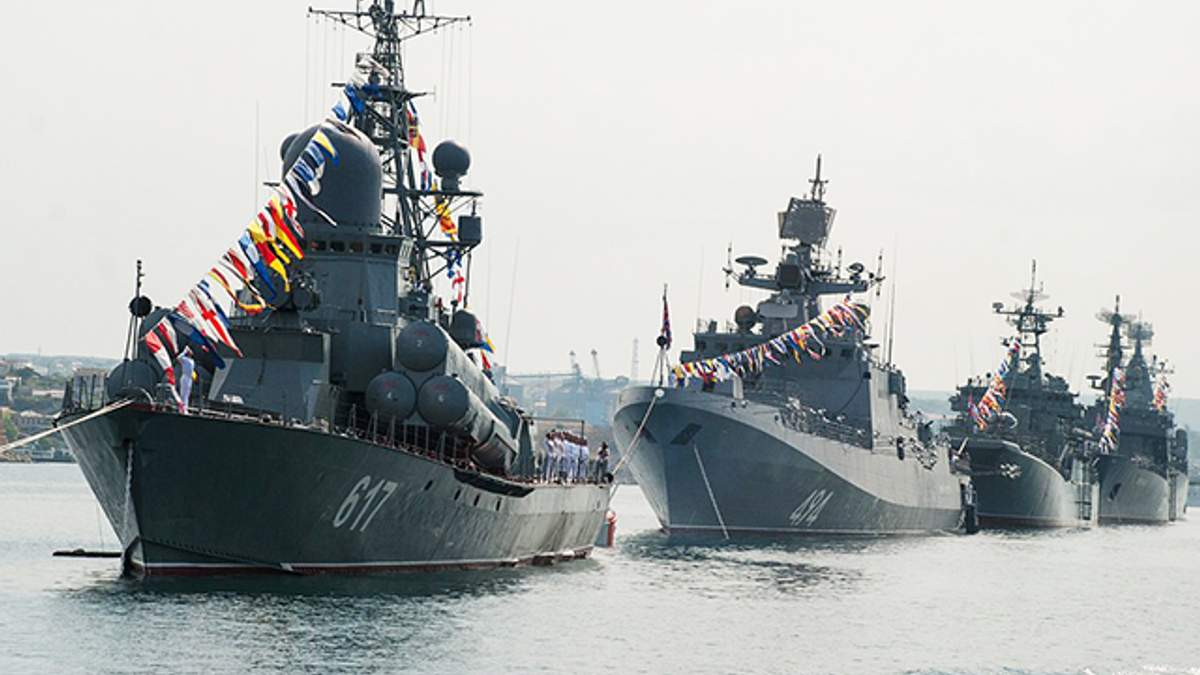 Росія привела Чорноморський флот у повну бойову готовність