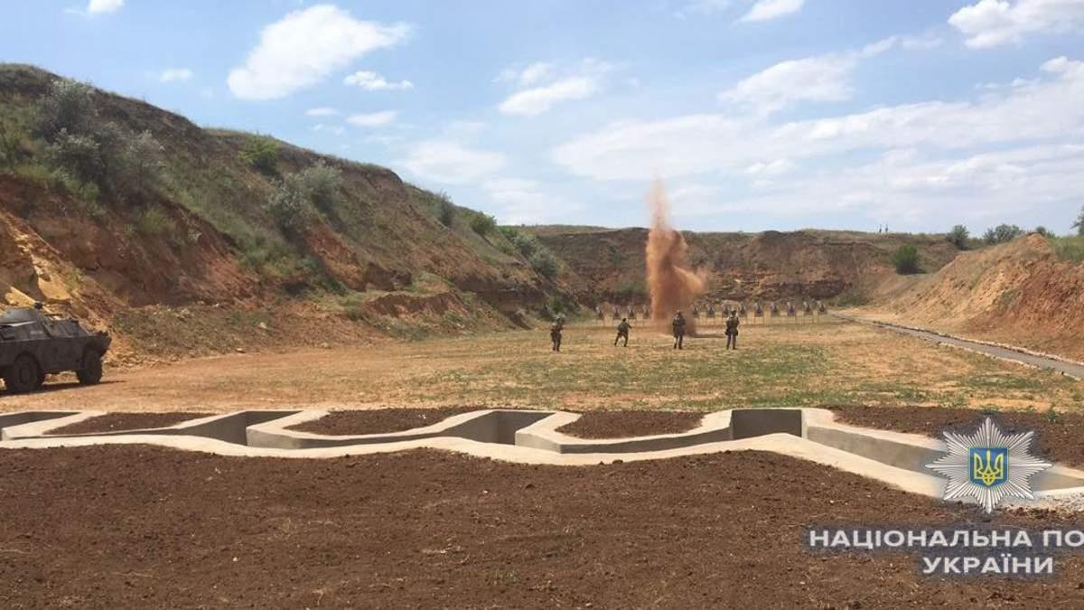 На Херсонщині з'явився сучасний стрілецький полігон для поліцейських