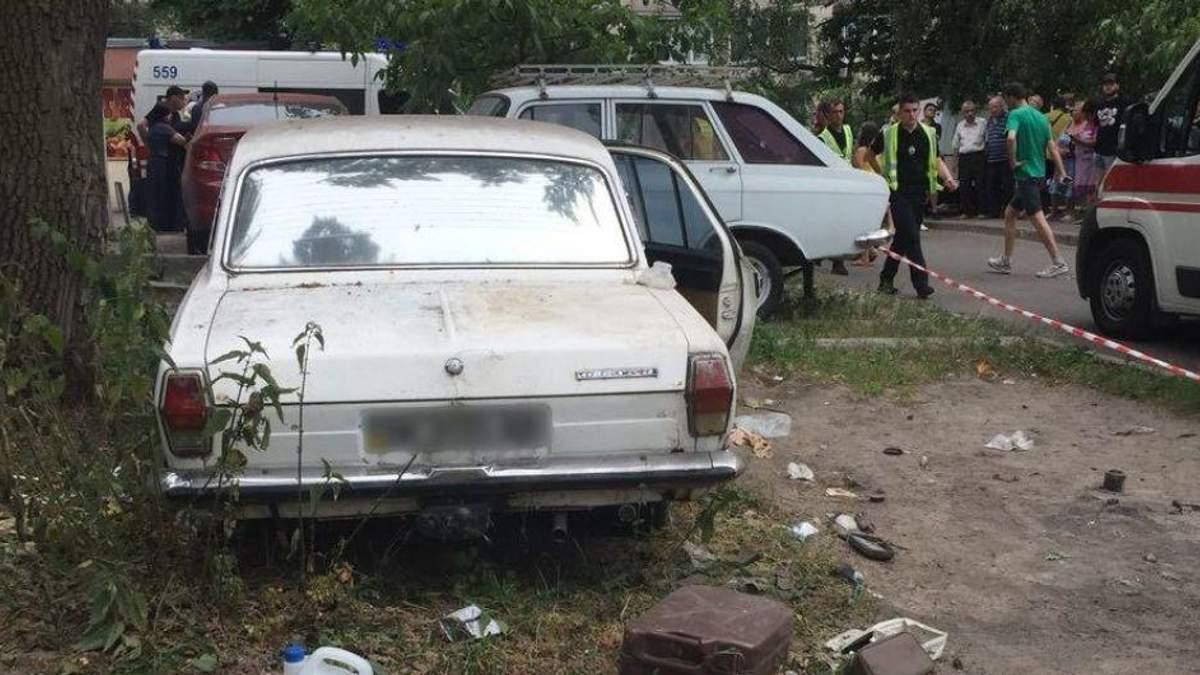 """Внаслідок вибуху у старій """"Волзі"""" постраждали три дівчинки та один хлопчик віком від п'яти до 11 років"""