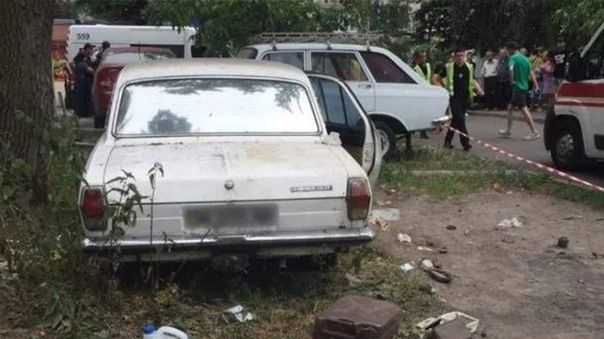 Заарештовано власника авто у якому через вибух постраждали четверо дітей