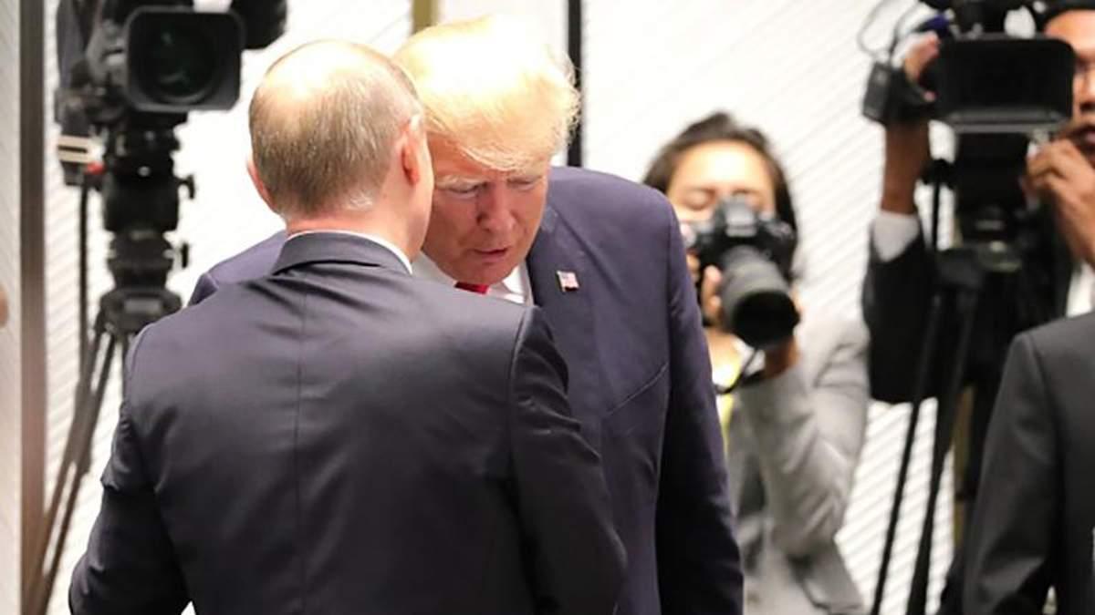 Дональд Трамп дуже хоче зустрітися з Володимиром Путіним