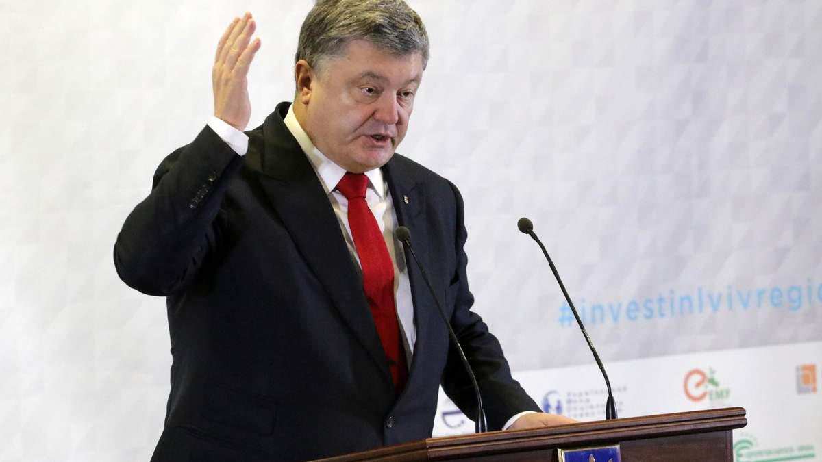Порошенко призывает международных партнеров усилить давление на Россию