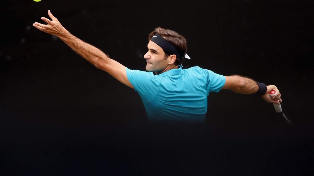 Роджер Федерер одержал 98-ю победу в карьере