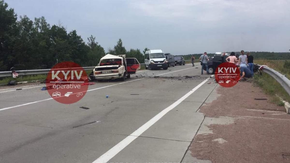 Аварія на Житомирщині