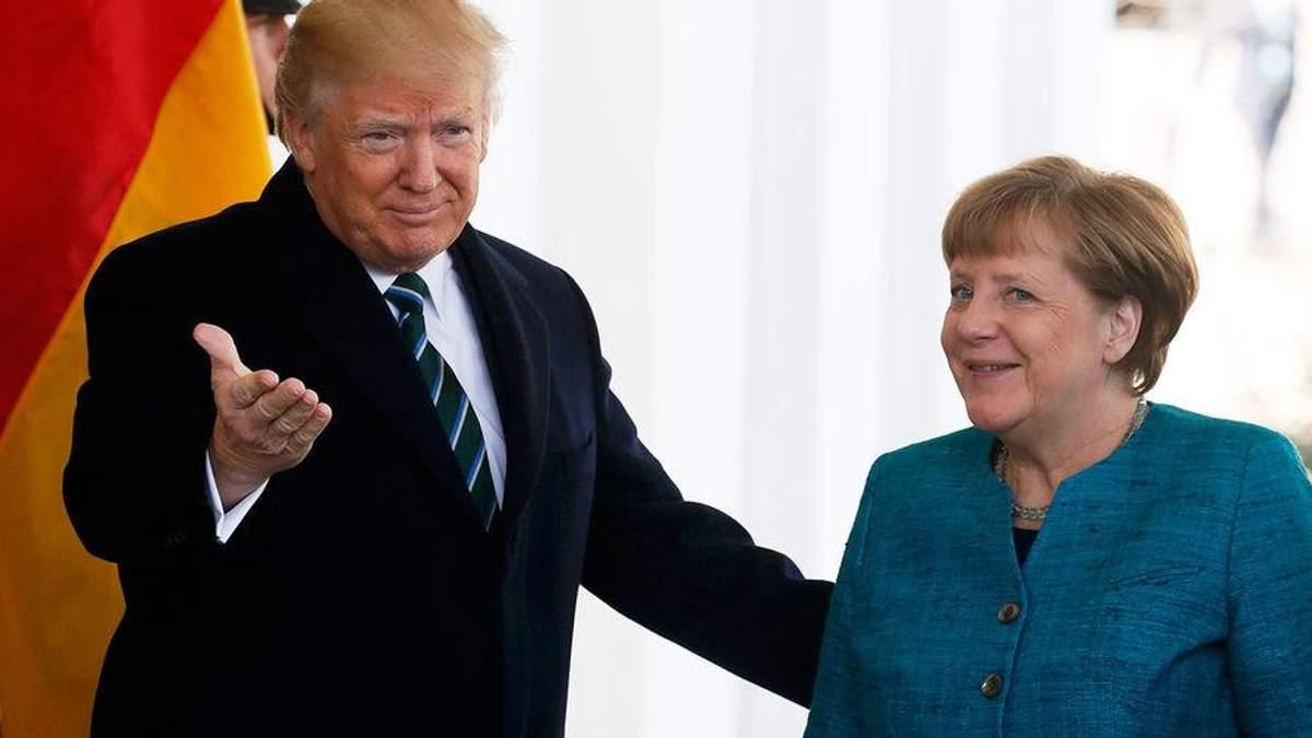 Трамп прокомментировал фото с Меркель