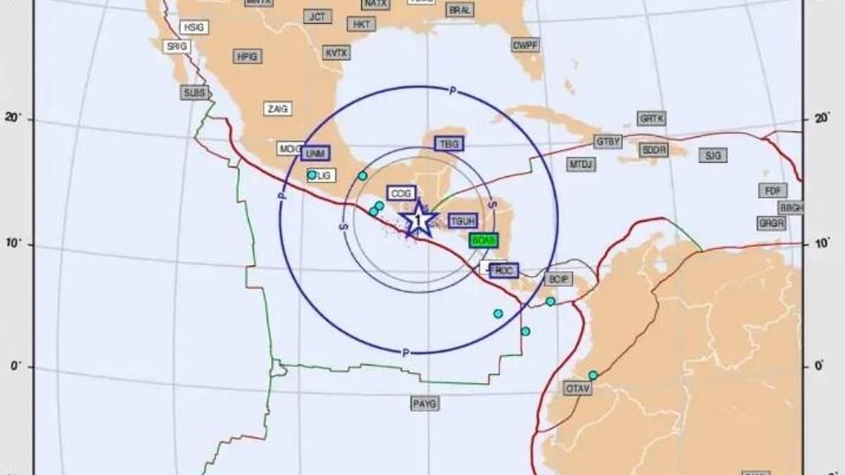 """""""Штучний"""" землетрус зафіксували вчені в Мехіко"""