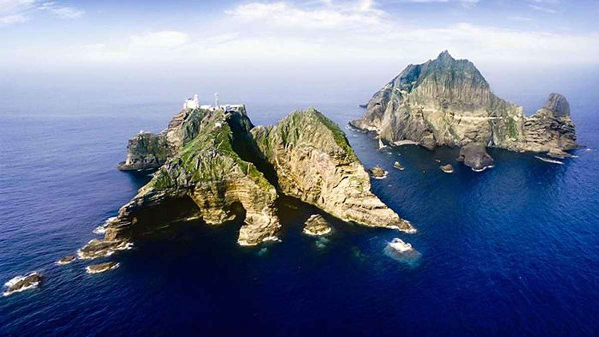 В Южной Корее анонсировали проведение военных учений вблизи островов Ліанкур