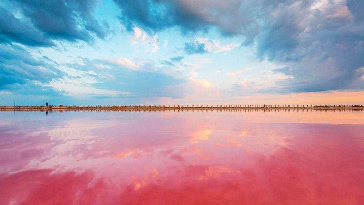 Розовое озеро в Херсонской области: лечебные свойства имеет водоем ...