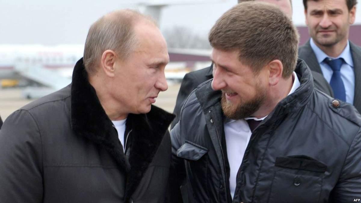Путін і Кадиров