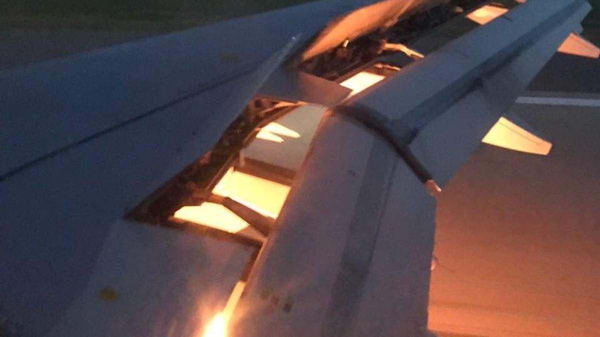 У літака зі збірною Саудівської Аравії загорівся двигун