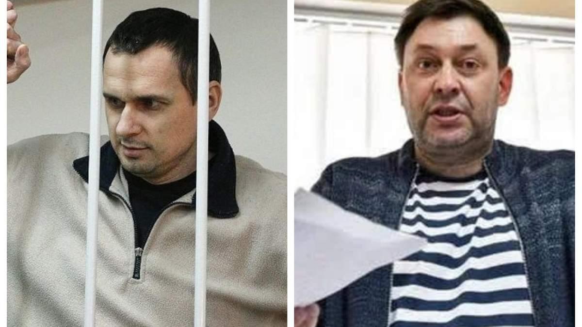 Домовленості омбудсменів про відвідування Сенцова і Вишинського знову зірвалися