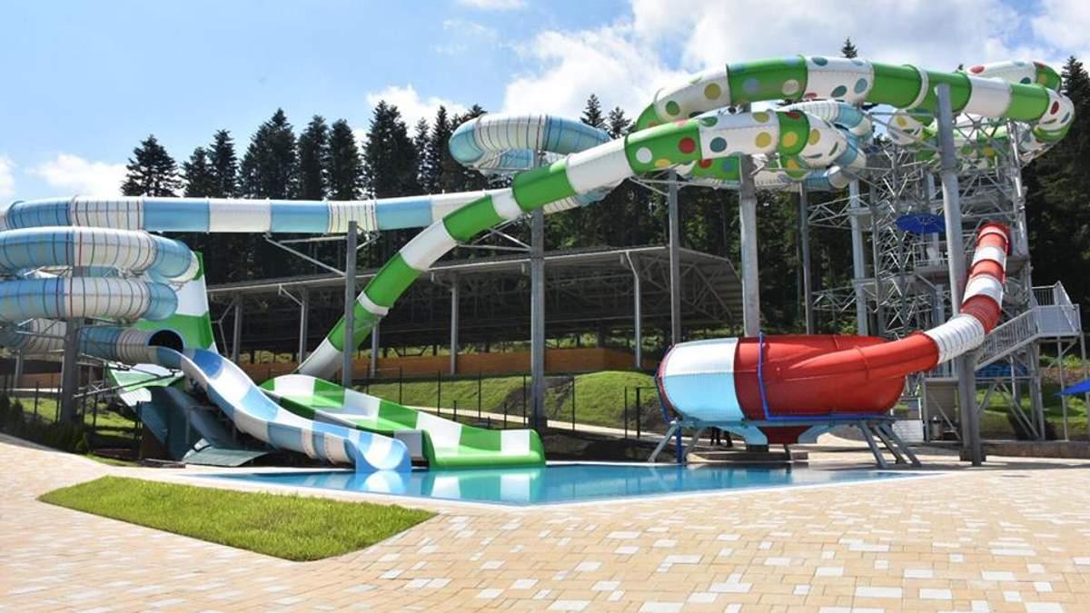 В Сходнице на Львовщине открыли большой аквапарк