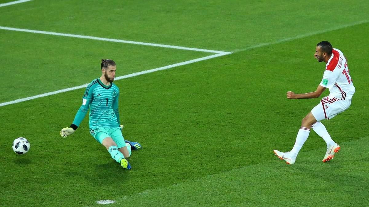 Іспанія – Марокко відео голів матчу Чемпіонату світу