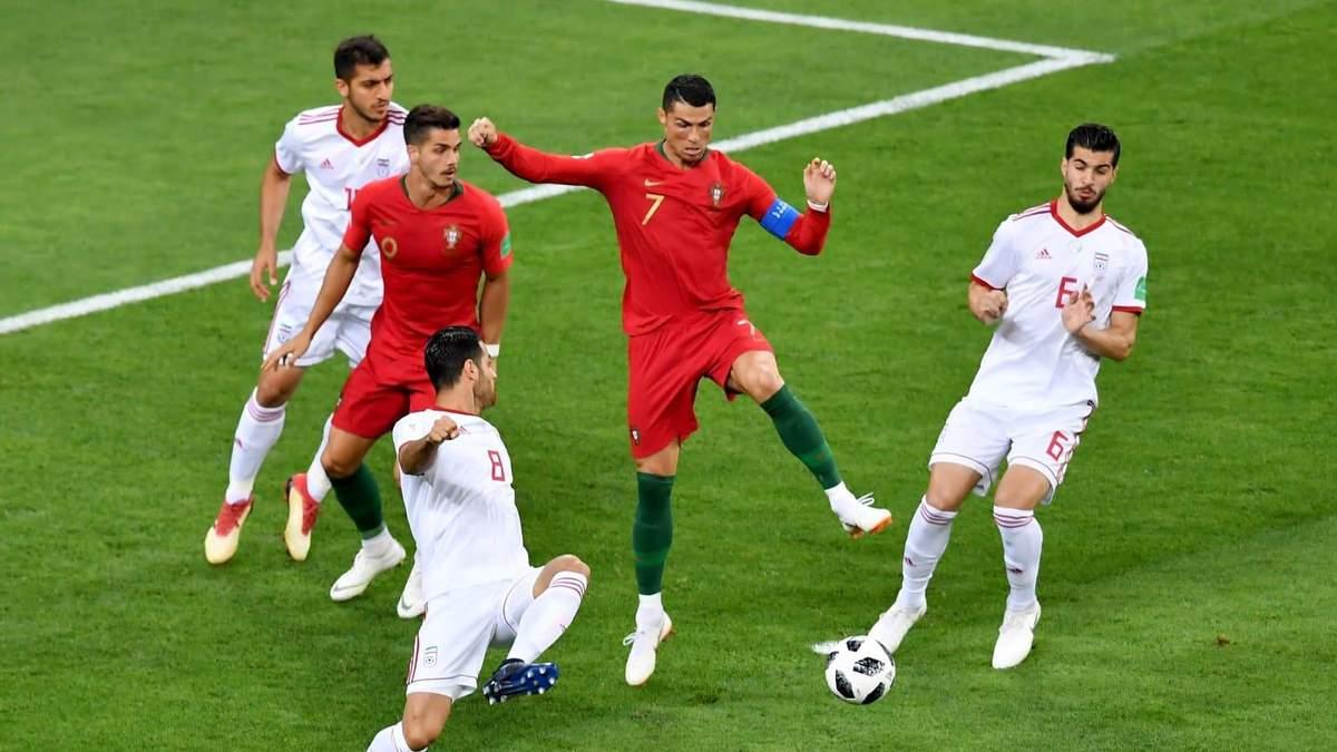 Іран – Португалія відео голів матчу Чемпіонату світу