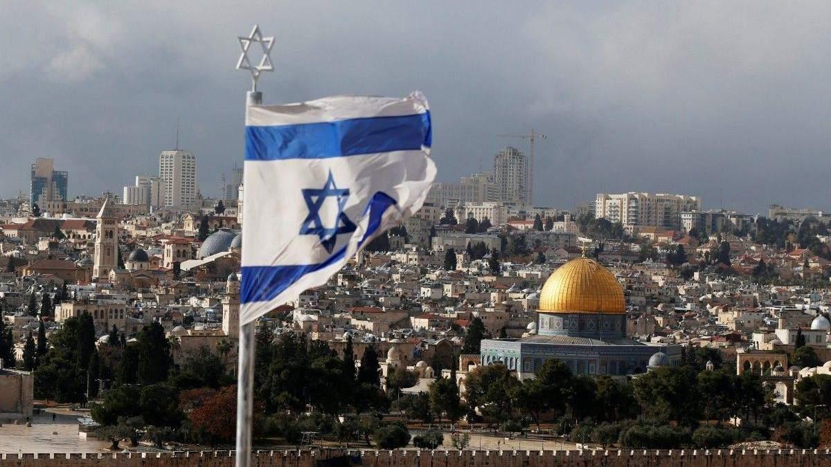 Ракетная атака по Израилю