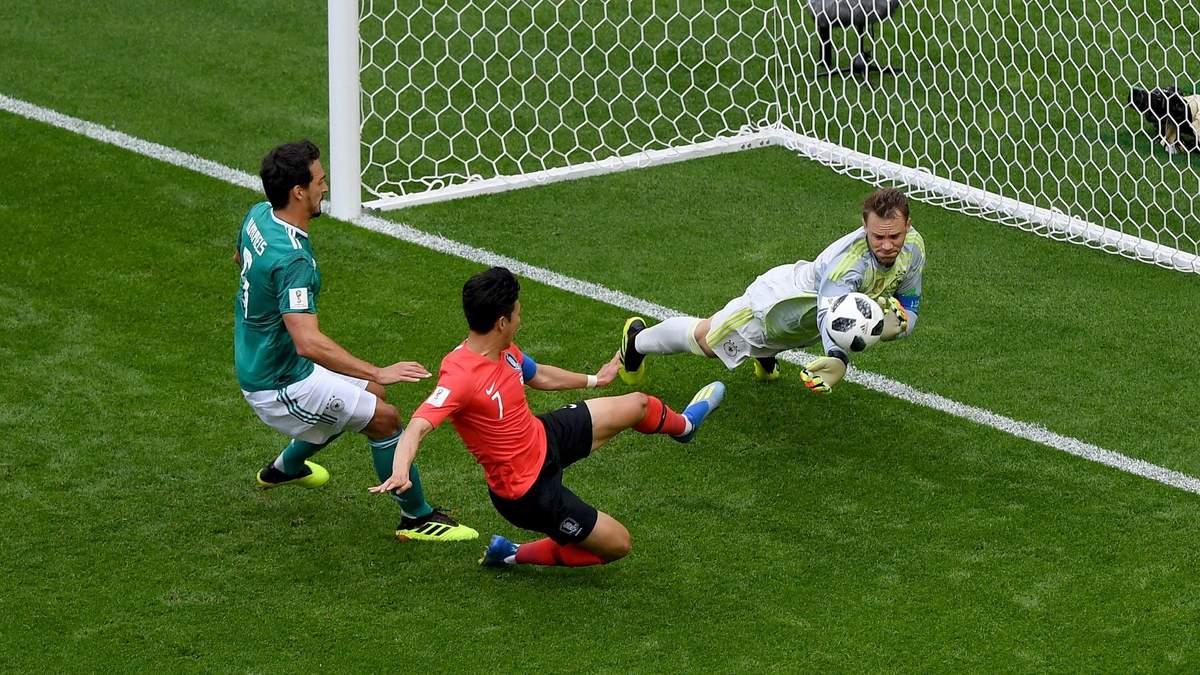Південна Корея – Німеччина відео голів матчу Чемпіонату світу