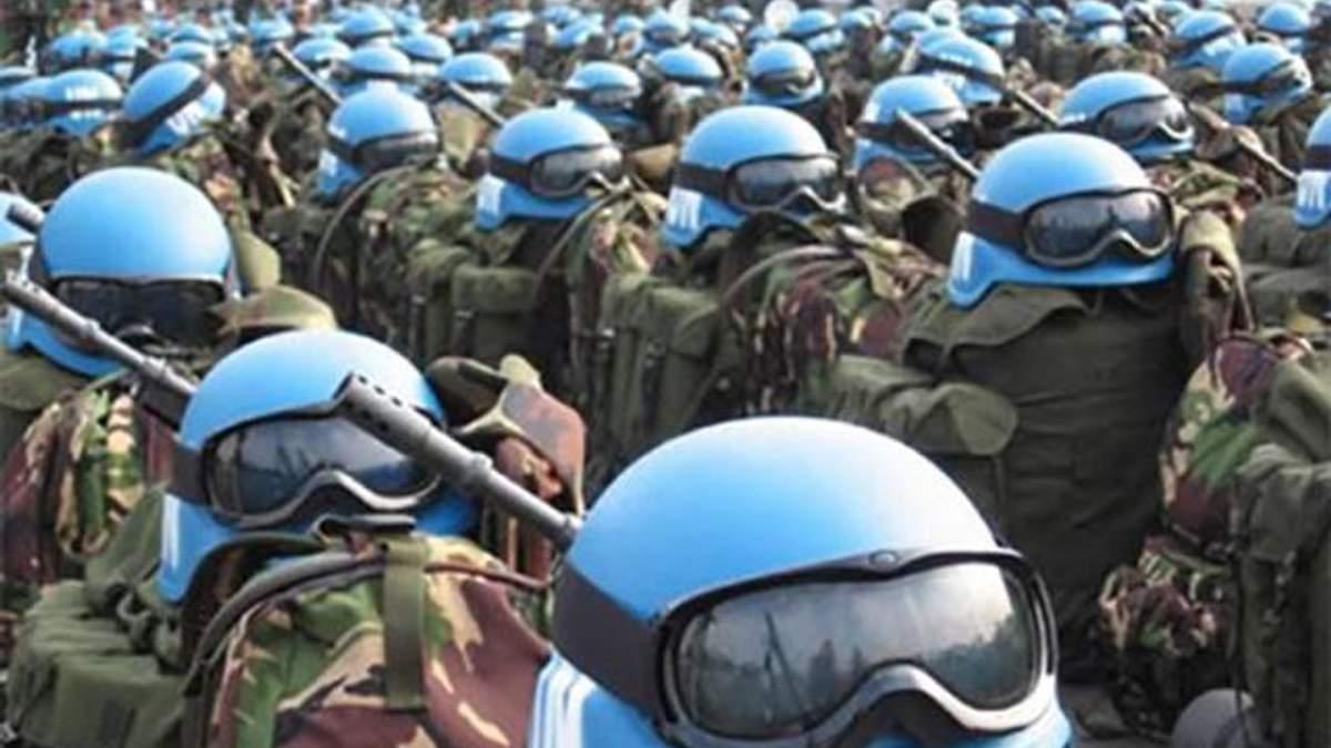 Миротворці повинні ввійти на територію Донбасу