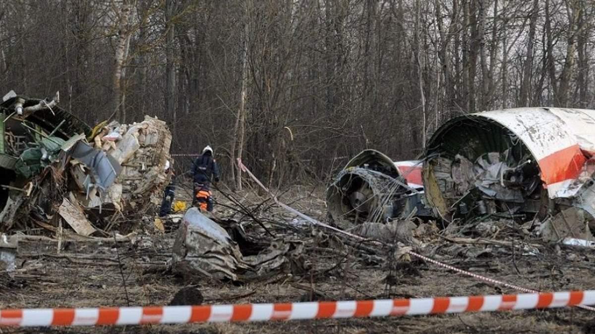 Нові факти Смоленської трагедії: комісія знайшла залишки вибухівки