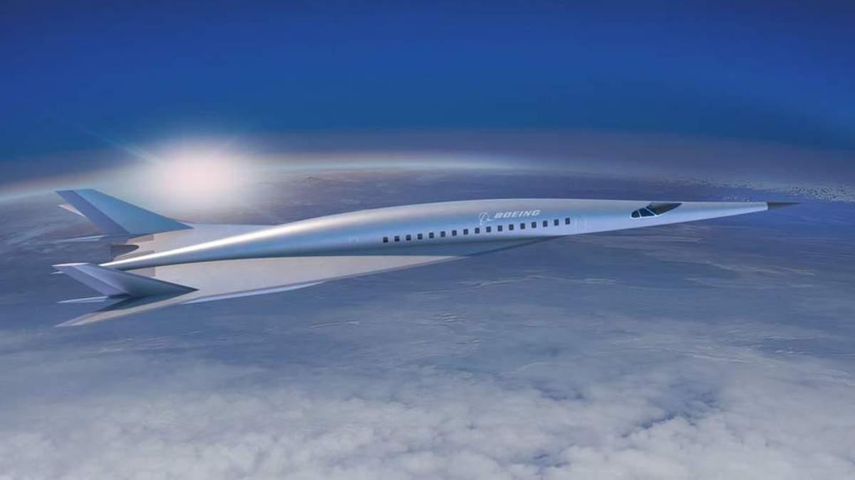 Boeing запустит сверхзвуковой самолет