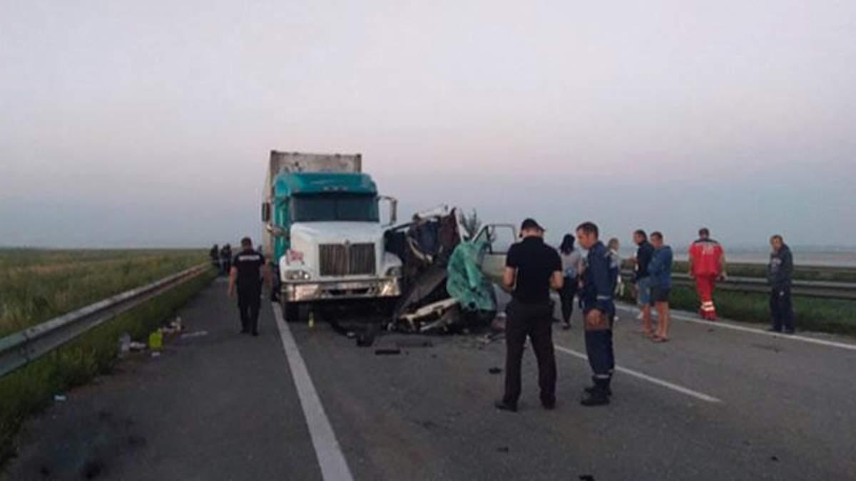 ДТП на трассе Киев - Одесса: много погибших - фото аварии