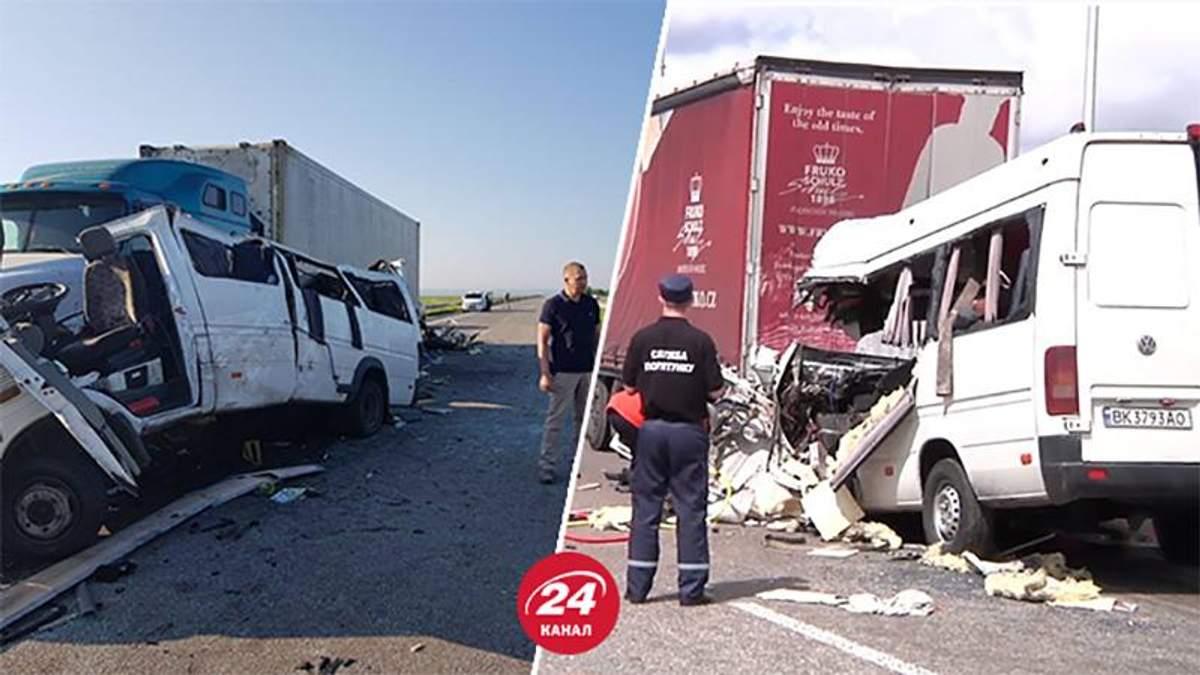 Украинские водители высказали мнение относительно причин аварий с фурами в Житомирской и Николаевской областях