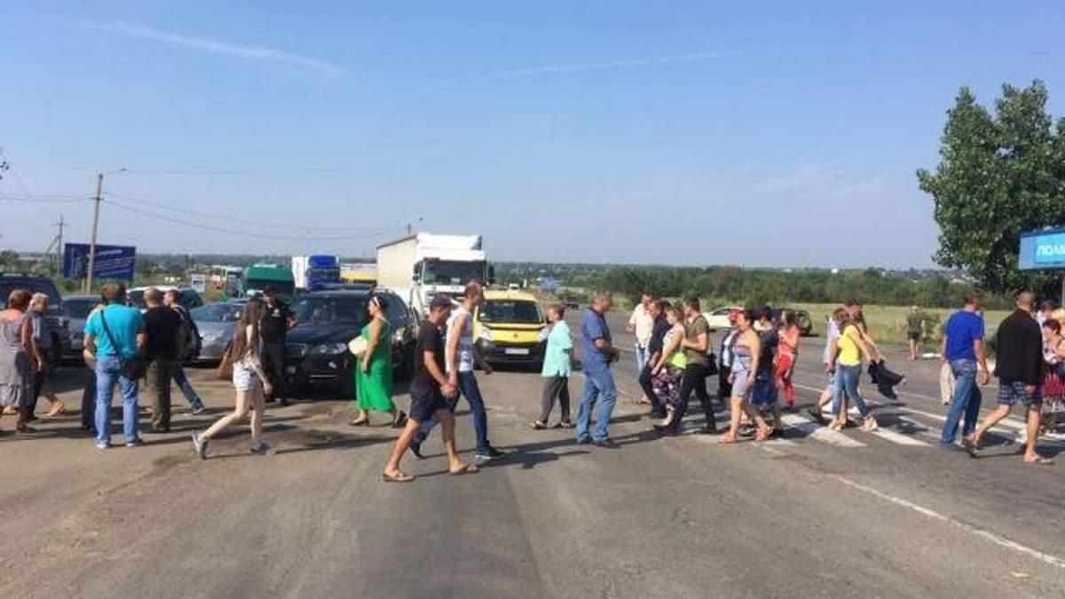 Ремонт национальной магистрали Одесса – Рени требуют остановить