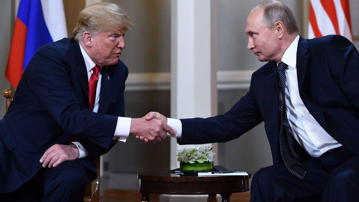 Розвідка США може з'ясувати, що Трамп сказав Путіну у Гельсінкі, – Politico