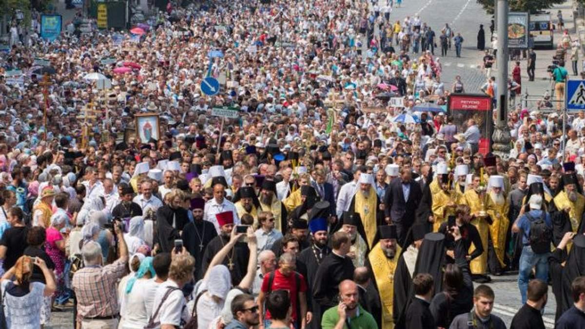 Крещения Руси 2018 Киев - мероприятия 27 и 28 июля 2018