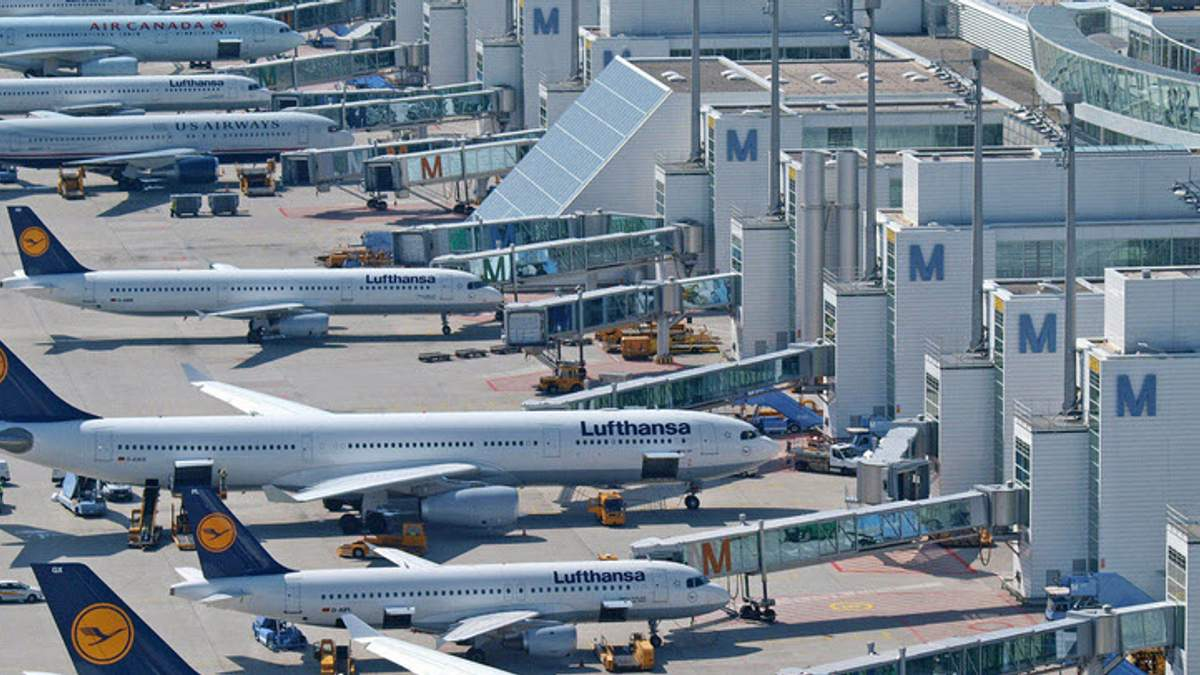 В аеропорту Мюнхена через інцидент із жінкою скасували 330 рейсів