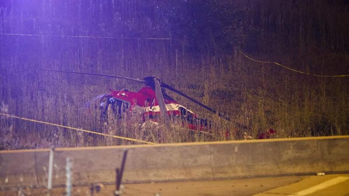 Четыре человека госпитализированы после аварийной посадки медицинского вертолета