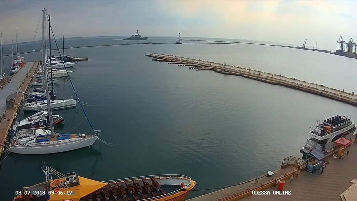 В Одеський порт прибув есмінець США: фото