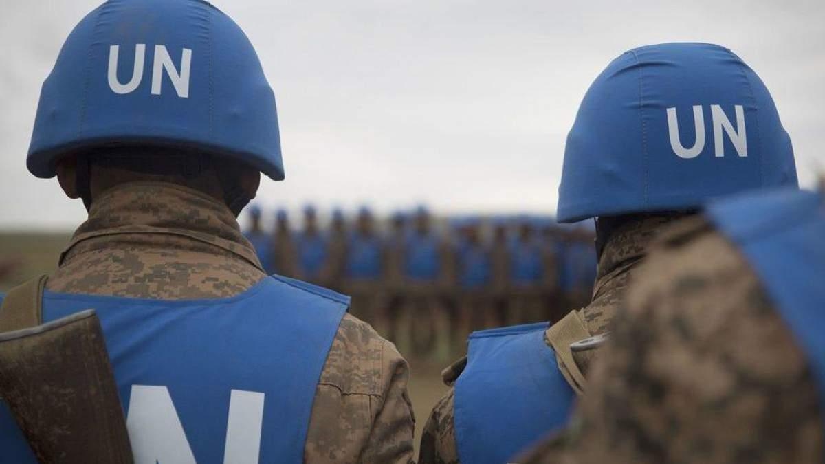 Росія має погодитись на розгортання місії ООН на всій території Донбасу