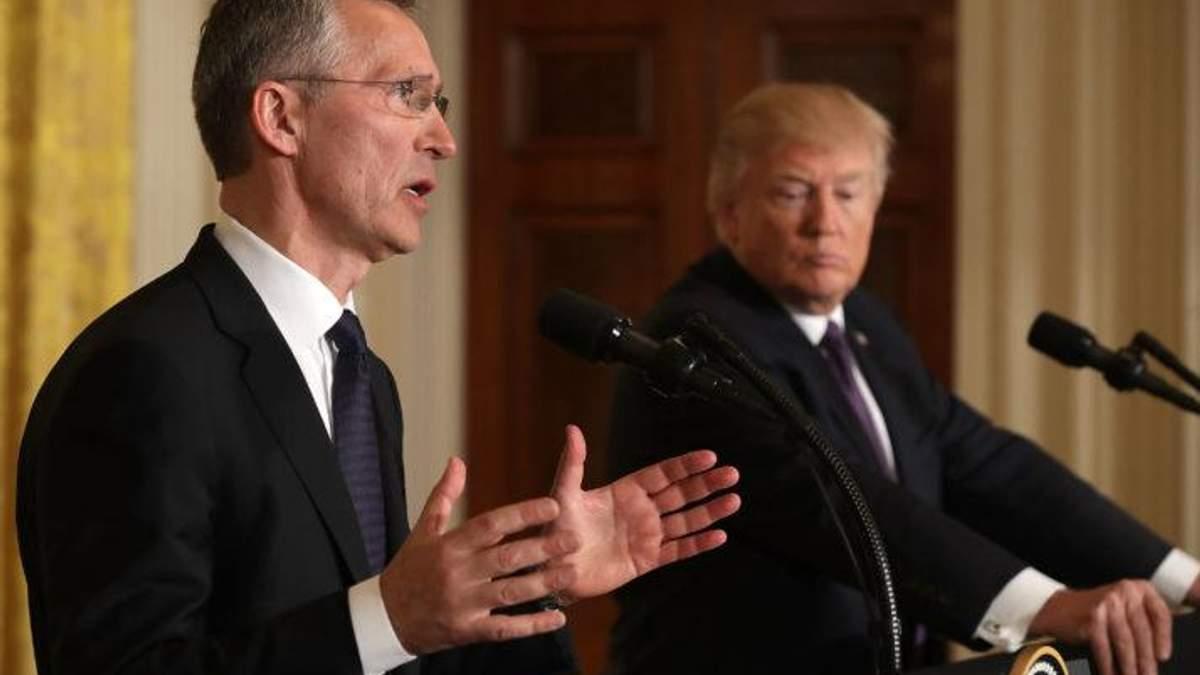 Столтенберг уверен, что Трамп не собирается разрушать Североатлантический альянс
