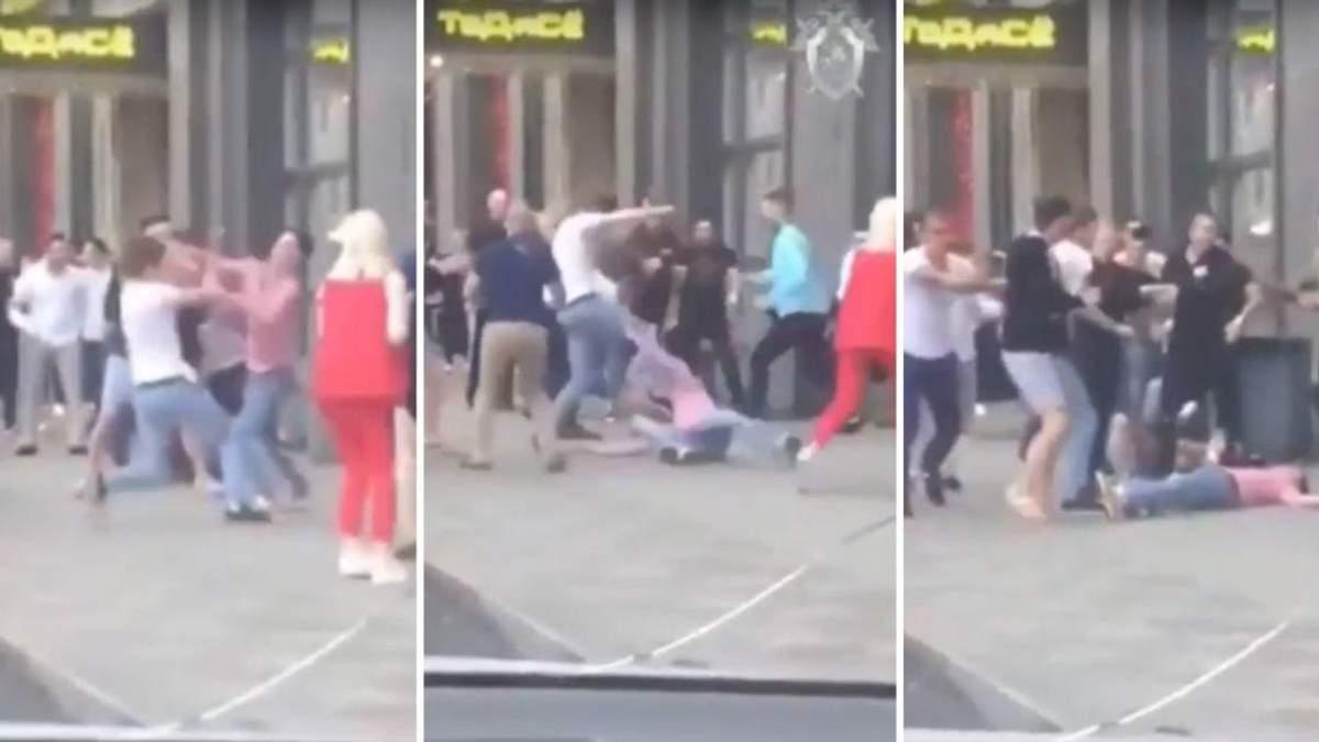 В центре Москвы произошла массовая драка, во время которой погиб 30-летний мужчина